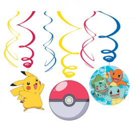 12 stuks Pokemon Swirl slingers