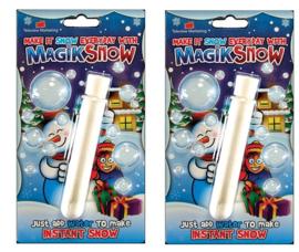2 stuks Magic sneeuw maker