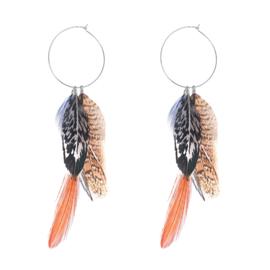 Oorbellen Fall Feathers