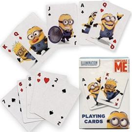 2 setjes Minions jumbo speelkaarten 14 x 9 cm