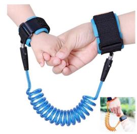 Veiligheidsband voor kinderen Anti Lost polsband, Voor in pretparken veiligheid riem