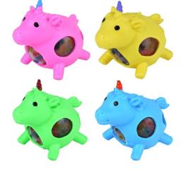 4 stuks Unicorn Squeezy