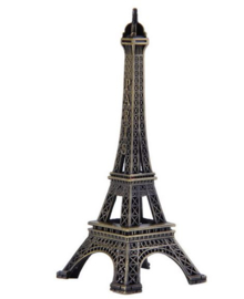 2 stuks Metalen Eiffeltoren 10 cm