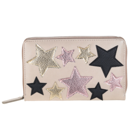 Grote portemonnee / clutch Stars