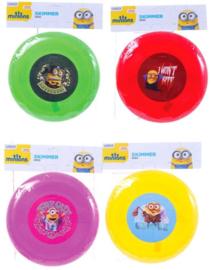 4 stuks Minion Frisbee - 20cm