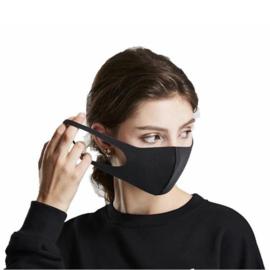 5 stuks mondmasker zwart