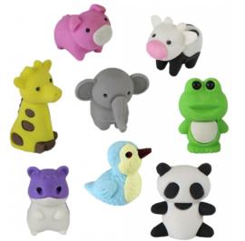 10 verschillende dieren gummen 2,5 - 3 cm