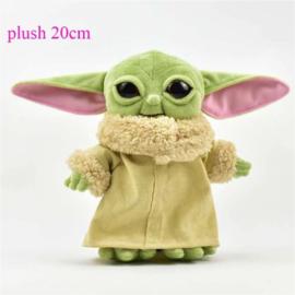 Pluche Yoda 20 cm