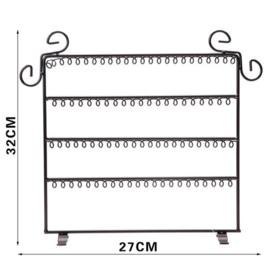 Metalen sieraden display 32 x 27 cm