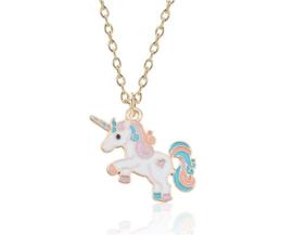 Ketting goudkleur unicorn