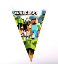 Minecraft vlaggenlijn - 10 vlaggen