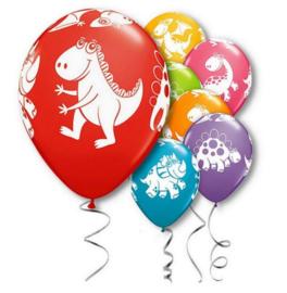 10 stuks ballonnen dinosaurussen