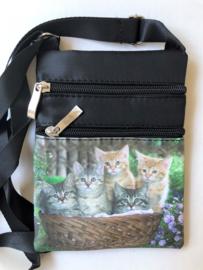 Schoudertasje kittens