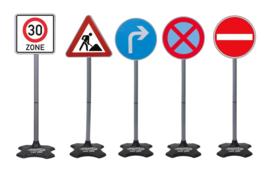 Grote verkeersborden 5-delig 81 cm