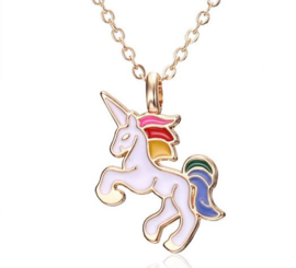 Ketting met hanger unicorn