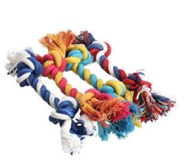 2 stuks flostouw puppy - honden speelgoed 15 cm