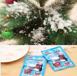 10 zakjes Magic instant sneeuw / sneeuwpoeder / nepsneeuw