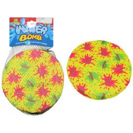 2 stuks water frisbee 19 cm