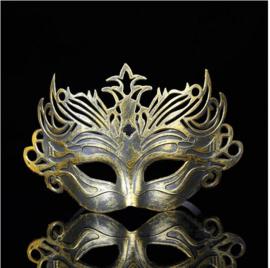 Goudkleurig venetiaans masker