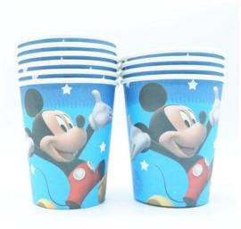 10 stuks kartonnen Mickey Mouse bekers
