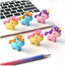 4 stuks unicorn - eenhoorn gummen