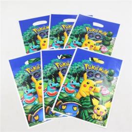 10 stuks Pokemon plastic snoepzakjes