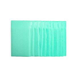 40 stuks luxe luchtkussen enveloppen 25x15 cm groen