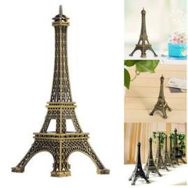 Metalen Eiffeltoren 18 cm