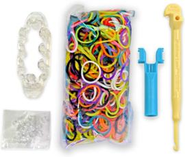6 stuks loom pakketjes Rainbow Loom MonsterTail