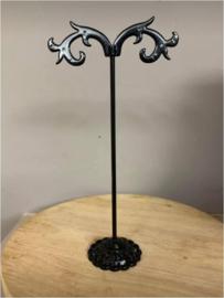 5 stuks metalen displays voor oorbellen 12 cm