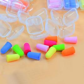 5 paar Oordopjes- Earplugs - Gehoorbescherming - Partyplugs - Snurken - Slapen - Herbruikbaar - In handig bewaardoosje