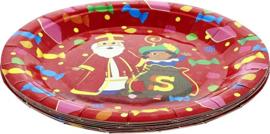 Borden Sinterklaas 18 cm 8 stuks