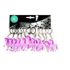 12 stuks eenhoorn / unicorn sleutelhanger