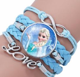 Armband blauw Frozen