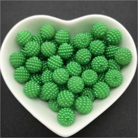 150 stuks acryl parelkralen 10mm groen