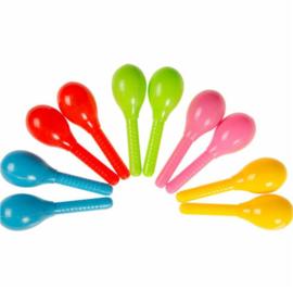 3 setjes = 6 stuks samba ballen 11cm verschillende kleuren