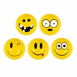 25 stuks Smiley stuiterballen 3.3 cm