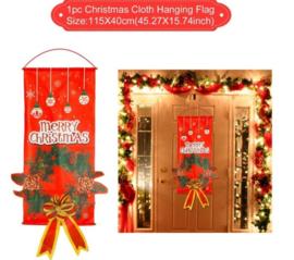 Kerst deurhanger 45x27 cm