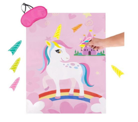Unicorn party game roze