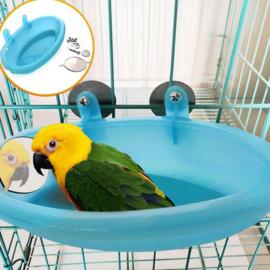 Vogelbadje blauw - parkieten en kleine papegaaien