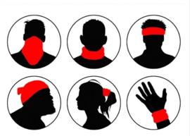 Motor bandana - colsjaal - buff sjaal - motor masker - ski masker - motor gezichtsmasker - ski gezichtsmasker skull