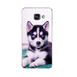 Soft case / hoesje Husky Puppy Galaxy A5 2016