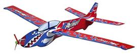 Stunt Glider - vliegtuig maat XXL 40x42cm GRATIS bij een bestelling vanaf 10 euro