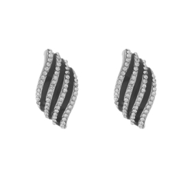 Oorclips Striped Sparkle