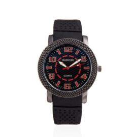 Exclusieve horloge grote wijzerdraad - rode cijfers