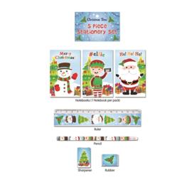 6 complete kerst schrijf setjes