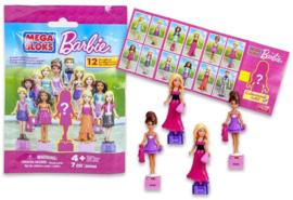 10 zakjes Blind Bag Mega Bloks Barbie / uitdeelcadeautjes