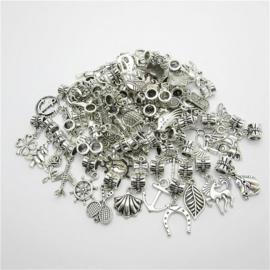 Metalen bedels 50 stuks