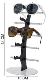 Display voor 5 stuks zonnebrillen