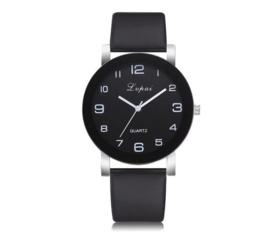 Quartz Dames horloge zwart